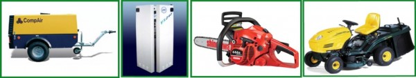 Hire, Sell & Repair of Lawnmowers, Sunbeds, Tool Hire, Chainsaws, Gardening & Construction Equipment