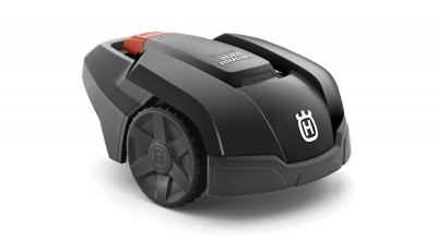 Husqvarna Automower, robotic lawnmower, as sold and installed by Ardkeen Hire Ltd., Waterford, Ireland