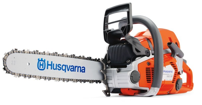 Husqvarna chainsaw.  Available from Ardkeen Hire Ltd, Waterford, Ireland.
