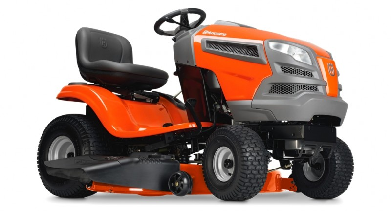 Husqvarna Ride-on Lawnmover / Lawn tractor -  quality lawn equipment from Ardkeen Hire Ltd, Waterford.  Lawnmowers that gets the job done right