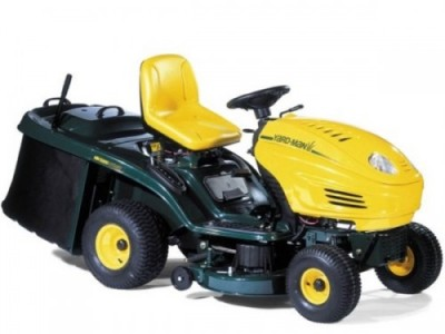 Yardman ride on lawnmower as hired and repaired by Ardkeen Hire Ltd, Waterford, Ireland